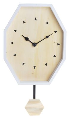 Zegar Ośmiokątny Drewniany - Decorazzi
