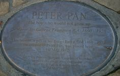 Peter Pan, London United, Statue, Boys Who, Growing Up, The Creator, The Unit, London, Havana