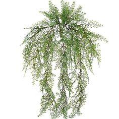 """Maiden Hair Fern Bush in Green 24"""" Long"""