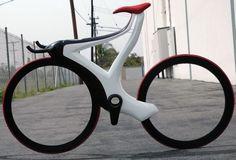 The Glide track bike, Michael Shrewsbury, Futuristic Bicycle