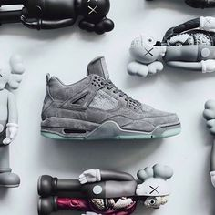 The Nike Air Jordan 4 X KAWS Is Available In Limited Sizes At Kickbackzny