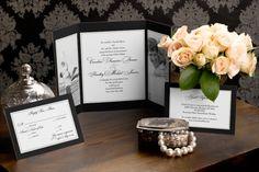 Gate-fold Wedding Invitations - Vision of Love