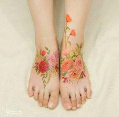 Wildflowers tattoo                                                                                                                                                                                 Más