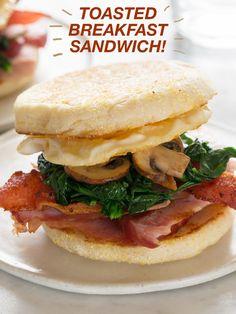 Toasted Breakfast Sandwich