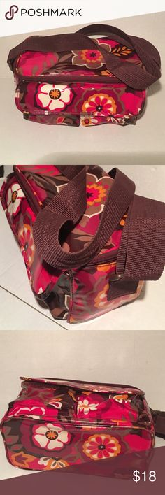 Vera Bradley Lunch Bag A few interior stains outside is in great condition. Enjoy  Vera Bradley Bags Totes