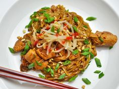 You can enjoy a quick and inexpensive meal without going out. Try this recipe for PF Chang's Copycat Dan Dan Noodles to make your own dan dan noodles at home.