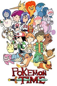 adventure time | pokemon