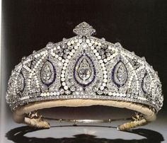 Princess Marie Louise''s tiara.  Now with the Gloucesters.  Princess Marie Louise was the daughter of Princess Helena (duaghter of Queen Victoria) and Prince Christian of Schleswig Holstein.