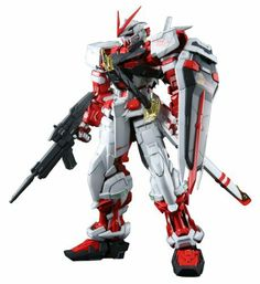 """Bandai Hobby Gundam Seed Astray Red Frame 1/60 Perfect Grade Model Kit by Bandai Hobby. $230.49. From the Manufacturer                Secretly in development for 4 years, the PG Gundam Astray Red Frame makes its big debut. In keeping with the """"Red Frame"""" designation, the movable frame around which the Perfect Grade series is designed is molded in red, with a completely articulated structure for exciting and flexible posing. Shoulder units can extend outward for expanded range o..."""