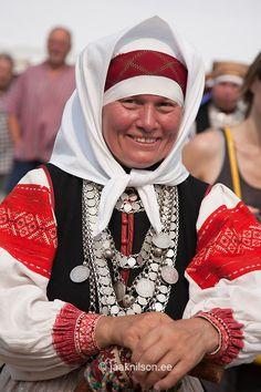 Seto Folk Festival Seto Kuningriigi Päev in Mikitamäe, Setomaa, Põlva County, Estonia, Europe