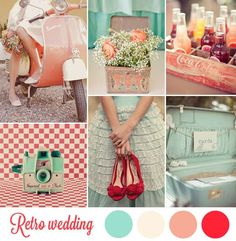 Idées pour un mariage Rétro Années 50 {Retro Wedding}