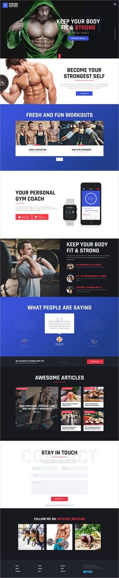 Awesome responsive 3in1 #WordPress theme for #webdesign personal gym and #fitness #trainers, nutrition advisors and coaches, healthy nutrition blogs, and food magazines websites download now➩ https://themeforest.net/item/personal-gym-trainer-nutrition-coach-theme/19058264?ref=Datasata