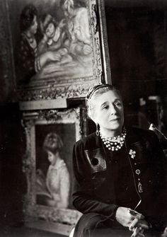 Portrait of Jeanne Lanvin, 1930, one of the most influential designers of the 1920s and 30's. #lanvin #lanvin125 .
