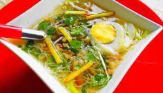 Surinaams eten – Saoto (populairste Surinaamse kippensoep)