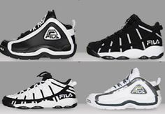 THE SNEAKER ADDICT: HUGE Markdown On Fila Grant Hill 2 Ninety6 & Stackhouse Retro Sneakers