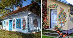 Zalipie - Little Polish Village Where Everything Is Covered In Colorful Flower Paintings | Bored Panda