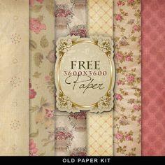 FREE Freebies Vintage Background Kit by Far Far Hill