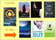 I read matched, didn't really like it. The first book was ok then it just got worse as the trio went on. Any good ones in here worth reading? ~Divergent~ ~Insurgent~ ~Allegiant~