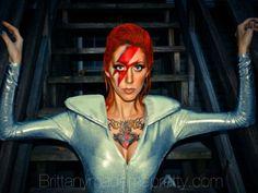 Ziggy Stardust make-up: brittanymademepretty