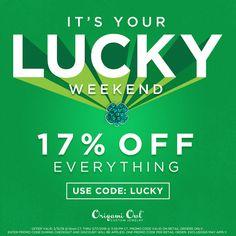 Share This Friends & Family Discount Code | OrigamiOwlNews.com | 236x236