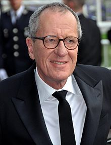 Australian actor Geoffrey Rush played Lionel Logue in The King's Speech, a true story about an Australian speech therapist that worked with England's King George VI.