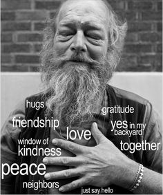 We are so very GRATEFUL for all the LOVE this community shares freely back and forth, you all are creating a new more equitable beautiful world for everyone. Let's keep NURTURING all that is good and standing up to all that is not, this is going to be a year of goodGOOD CHANGE!!!https://www.classy.org/campaign/facing-homelessness-2017-fundraiser/c159136