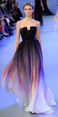 Elie Saab dress.
