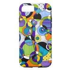 Circles 5 iPhone 7 case
