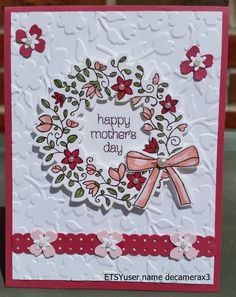 Handmade Happy Birthday, Mother's Day, Just Because, Card Kit, STAMPIN UP…