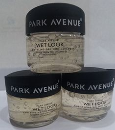 PARK AVENUE WET LOOK hair styling gel WITH glycerin set of 3 >>> Check out this great product. (This is an affiliate link) Wet Look Hair, Hair Gel, Park Avenue, Alcohol Free, Baking Ingredients, Cookie Dough, Link, Check, Food