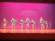 Gr. 2-5 Dance Company, Devil With The Blue Dress, Spring 2012