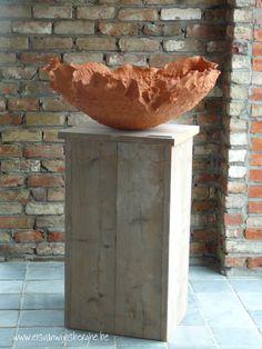 Sculptural bowl by Els Vanwijnsberghe