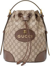 Gucci Neo Vintage GG Supreme backpack Shop the GG Supreme backpack by Gucci. - Gucci Neo Vintage GG Supreme backpack Shop the GG Supreme backpack by Gucci. A drawstring backpack - Gucci Purses, Chanel Handbags, Luxury Handbags, Louis Vuitton Handbags, Purses And Handbags, Gucci Bags, Cheap Handbags, Cheap Purses, Popular Handbags