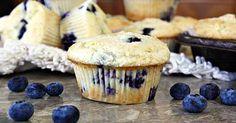 Recipe Makeover: Vegan Blueberry-Lemon Muffins