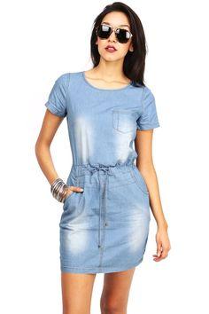Daily Dose Denim Dress | Denim Dresses at Pinkice.com