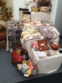 Our stand at The Handmade Fair