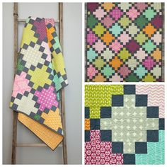 """""""Granny Squares"""" -                                                                                             The pattern for this quilt is..."""