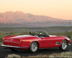 Visit The MACHINE Shop Café... ❤ Best of Ferrari @ MACHINE ❤ (Ferrari Red 250 GT Roadster)