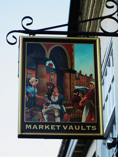 Tamworth Market Vaults Pub Sign