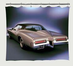 1971 Buick Riviera Shower Curtain