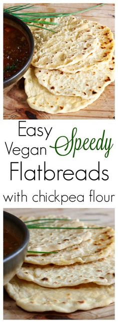 Simple & Speedy, these yummy vegan flatbreads are made from a mix of chickpea & plain flour. Perfect for mopping up juices & dunking into soups… There's a distinct chill in …