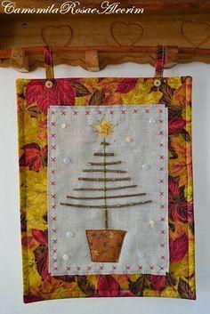 Panô Árvore de Natal de galhos com PAP!
