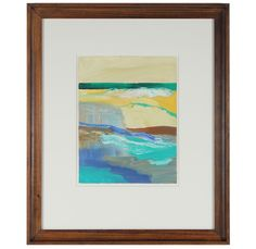 Abstracted Seascape I by Anna Poole