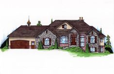 COOL house plans offers a unique variety of professionally designed home plans with floor plans by accredited home designers. Styles include country house plans, colonial, Victorian, European, and ranch. Blueprints for small to luxury home styles. European Style Homes, European House Plans, Craftsman Style House Plans, Country House Plans, European Plan, House Plans One Story, Best House Plans, House Floor Plans, House Plans 3 Bedroom
