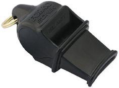 Fox 40 Sonik Blast Official Whistle with Break Away Lanyard (Black) by Fox 40. $7.39