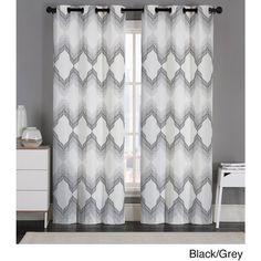 Serena Blackout Window Curtain Panel Pair