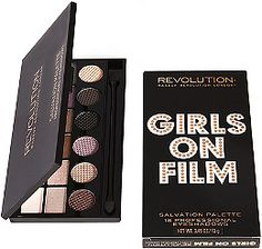 For the first time Makeup Revolution has combined shimmer and matte shades in a series of exciting limited edition Salvation Eye Shadow Palettes! Girls on Film is a plum-perfect partner to our famous Run Boy Run palette.