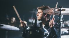 my baby on drums