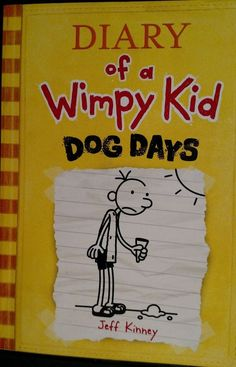 """DIARY Of A WHIMPY KID, """"DOG DAYS"""" By Jeff Kinney 4th Book of Series. in Books, Children & Young Adults 