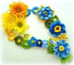 lidia luz crochet, I like this, I'm pondering on something similar to hide my scar!